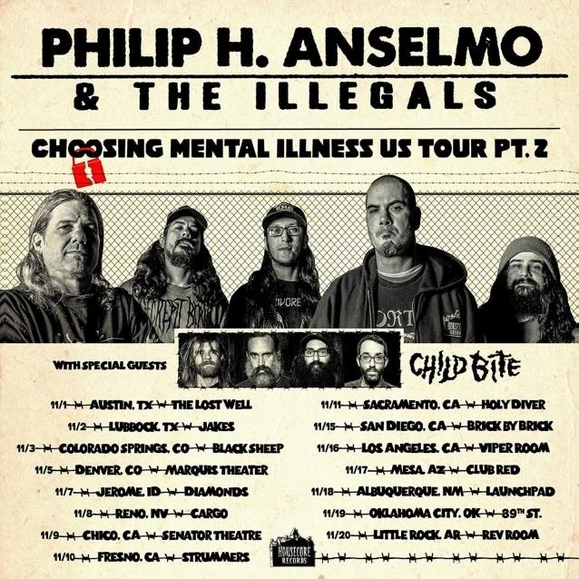 Phil Anselmo toca varios temas de Pantera en directo