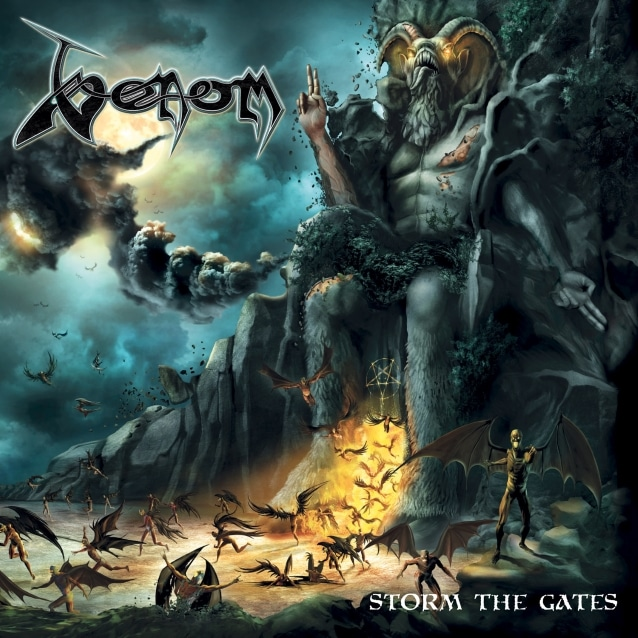 """Venom publicará su nuevo disco """"Storm The Gates"""" en diciembre"""