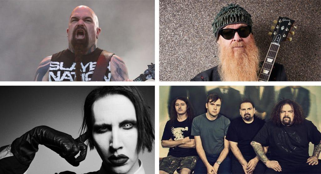 Curiosidades del Rock: SLAYER, ZZ TOP, MARILYN MANSON y NAPALM DEATH