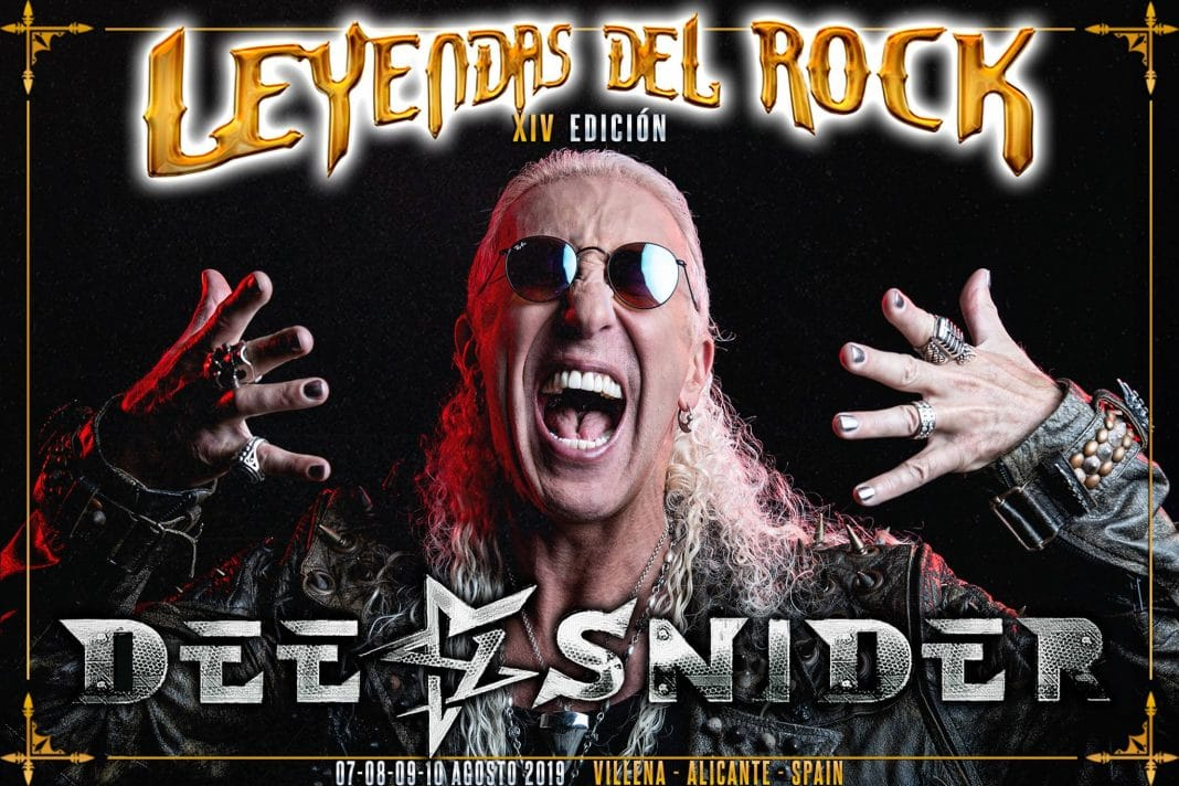 "DEE SNIDER estrena el video de ""For The Love Of Metal"""