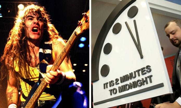IRON MAIDEN: Así es el Reloj del Apocalipsis que inspiró a