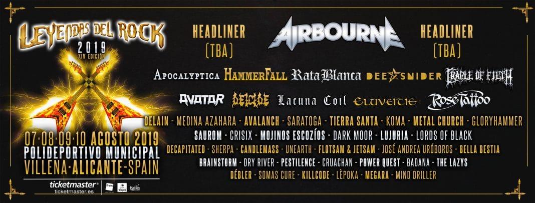 LACUNA COIL tocará en el LEYENDAS DEL ROCK 2019