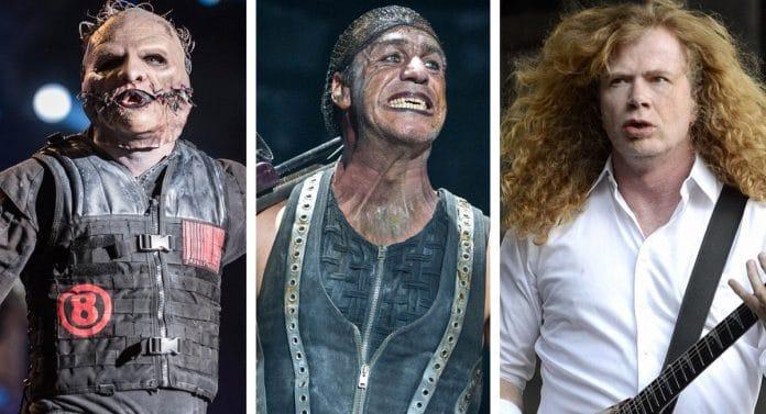 SLIPKNOT, RAMMSTEIN, MEGADETH y muchos más publicarán disco en 2019
