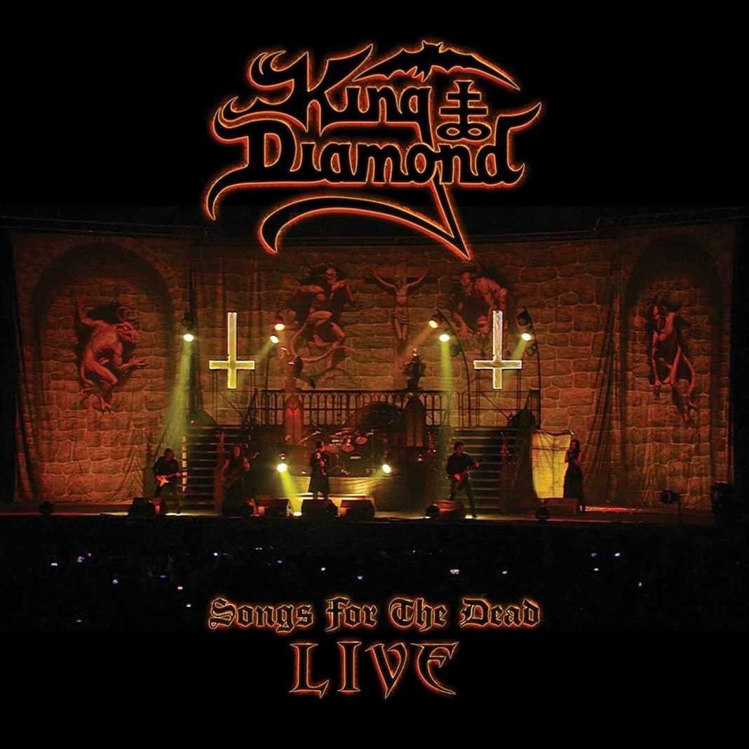 """Mira el video de """"Arrival"""" de KING DIAMOND grabado en directo"""