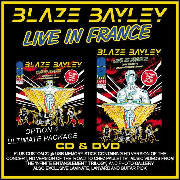 BLAZE BAYLEY toca una canción de IRON MAIDEN en acústico (Video)
