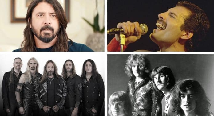 Curiosidades del Rock: FOO FIGHTERS, HAMMERFALL, LED ZEPPELIN y QUEEN