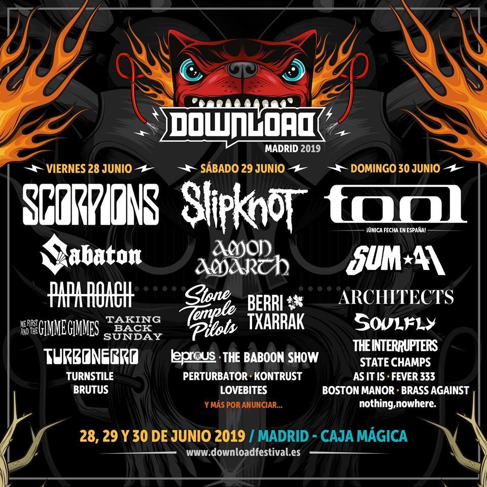 THE INTERRUPTERS tocará en el DOWNLOAD FESTIVAL 2019 y será la única fecha en España