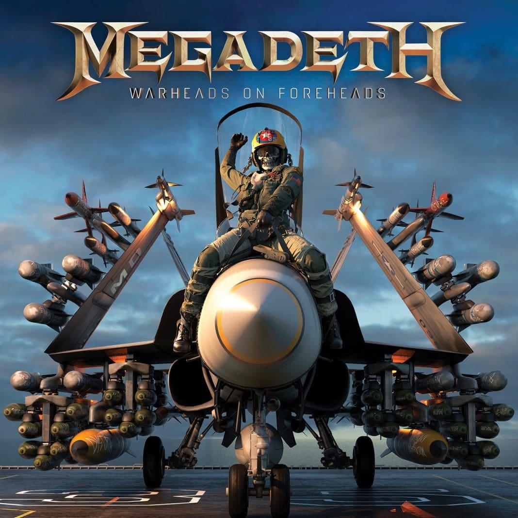 "MEGADETH publica un avance de ""Warheads On Foreheads"""