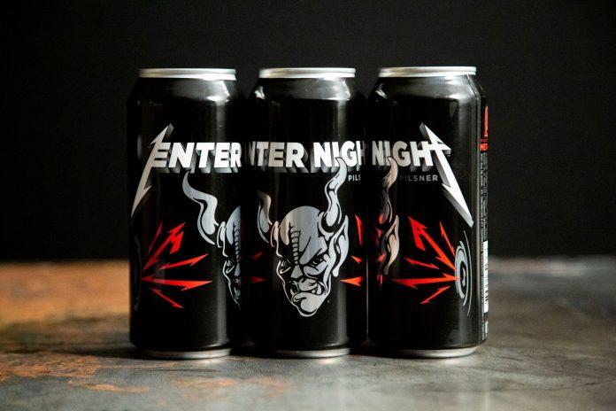 Metallica anuncia el lanzamiento de su cerveza 'Enter Night'