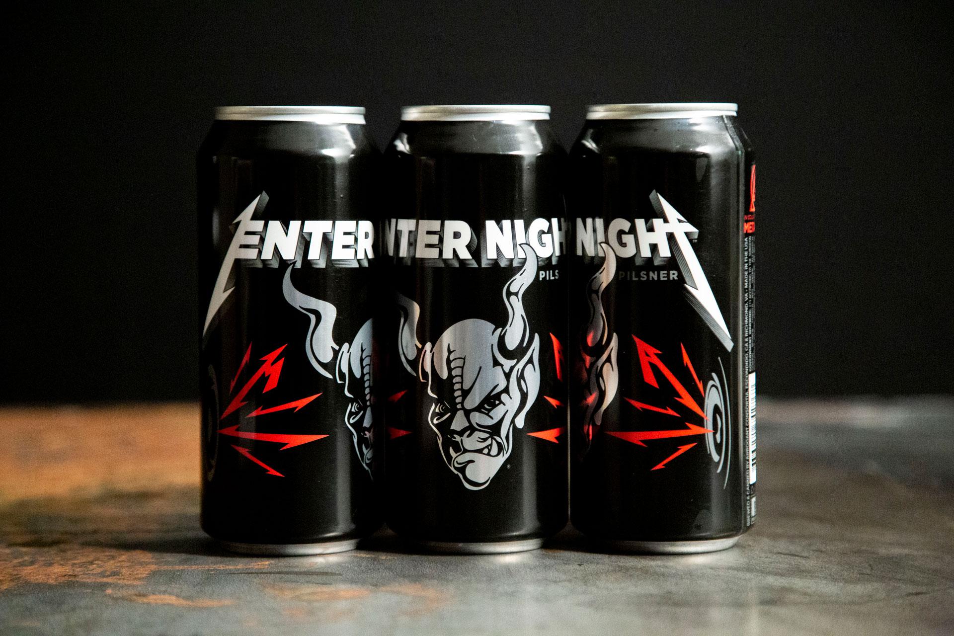"""Esta es la historia de la nueva cerveza de METALLICA """"Enter Night"""" (Video)"""