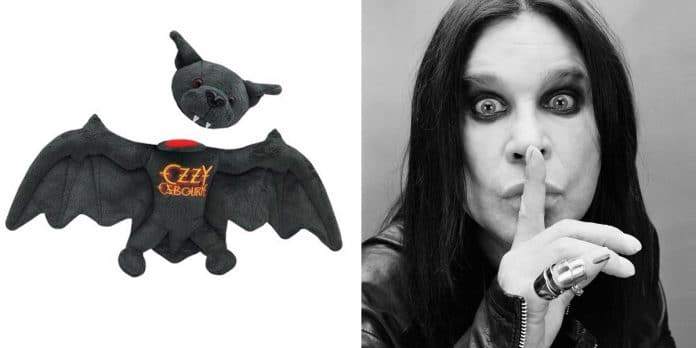 Ozzy Osbourne convierte en peluche el murciélago que decapitó