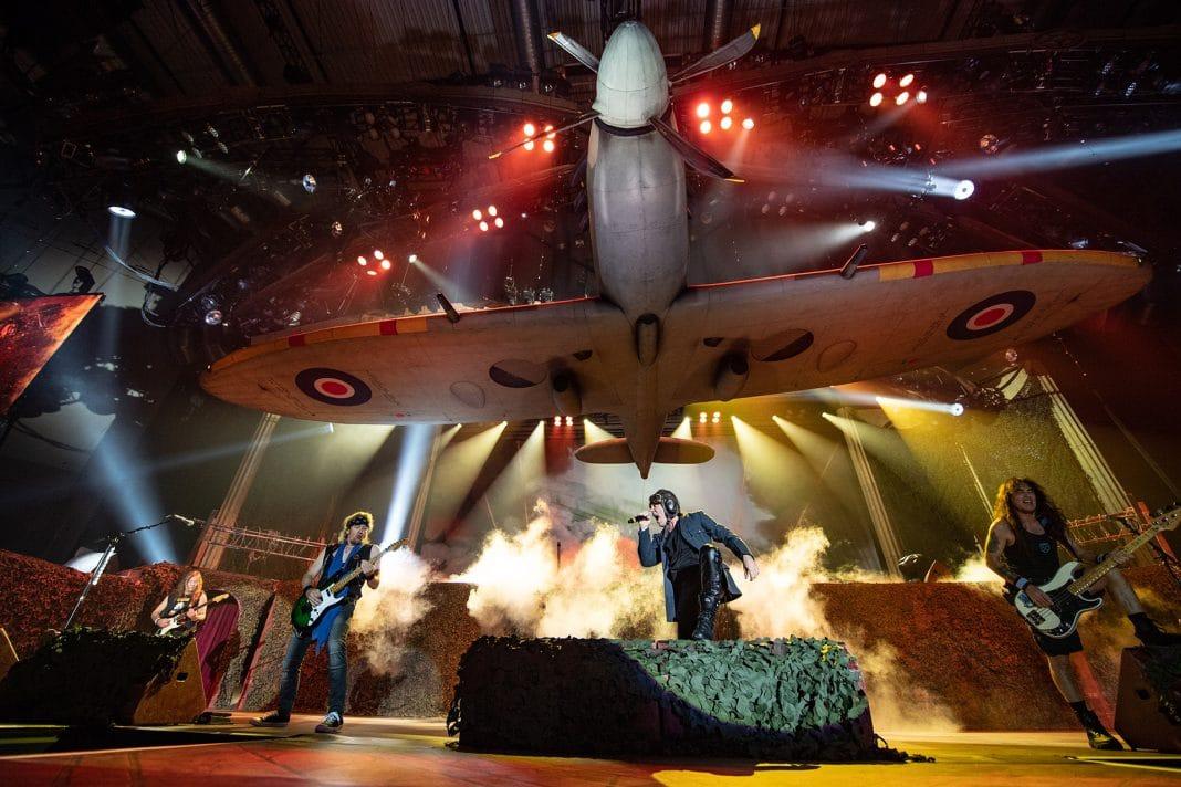 IRON MAIDEN: Todos los escenarios de sus giras mundiales (Fotos)