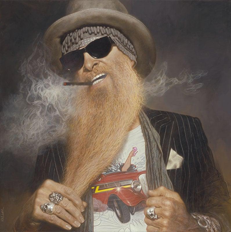 Alucinarás con estos retratos de músicos hechos por SEBASTIAN KRÜGER
