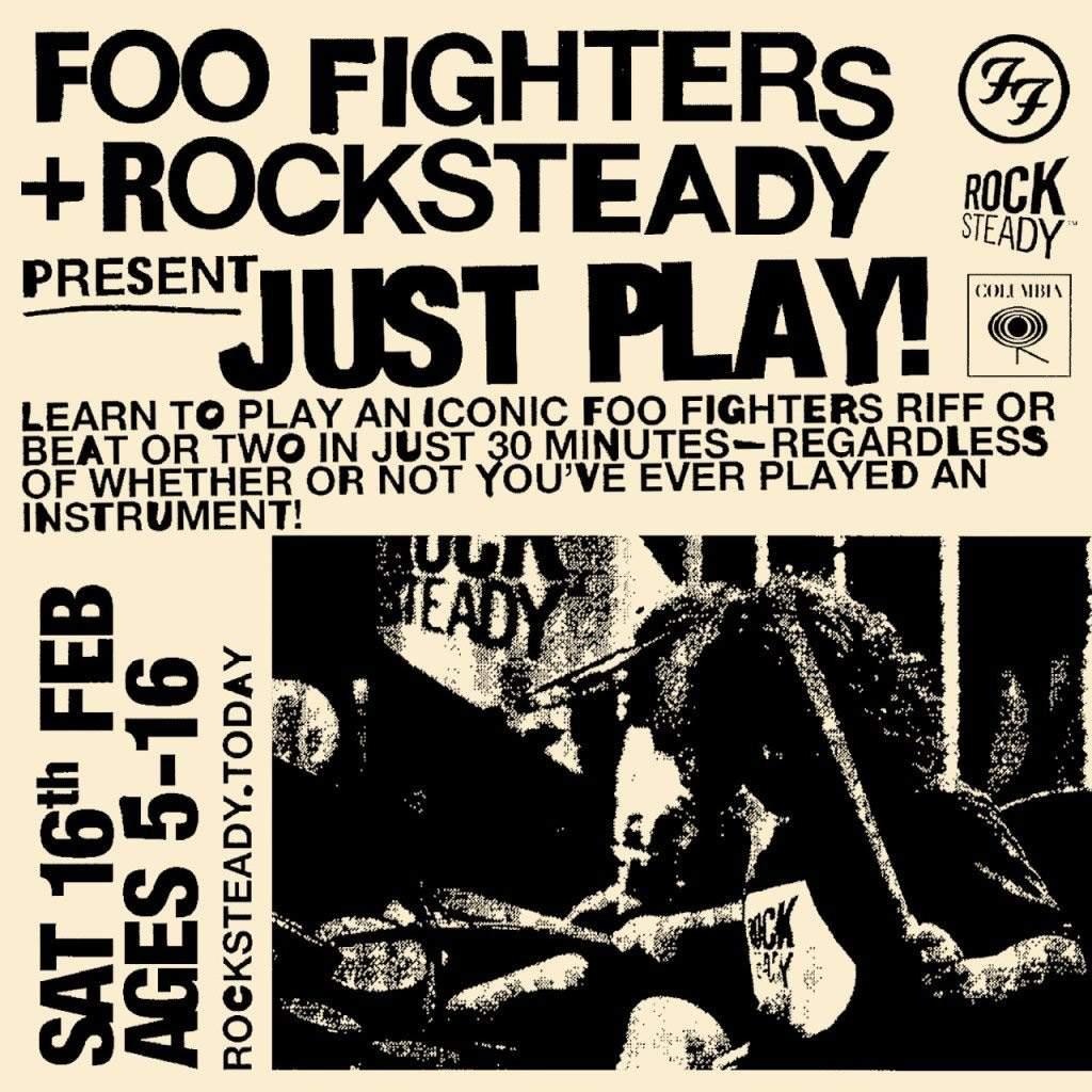 FOO FIGHTERS ofrecerá clases de música gratis para niños de 5 a 16 años