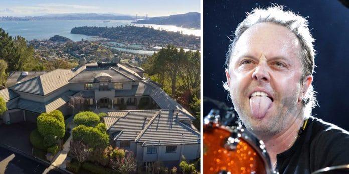 LARS ULRICH de METALLICA vende su mansión de Los Ángeles por casi 10 millones de euros