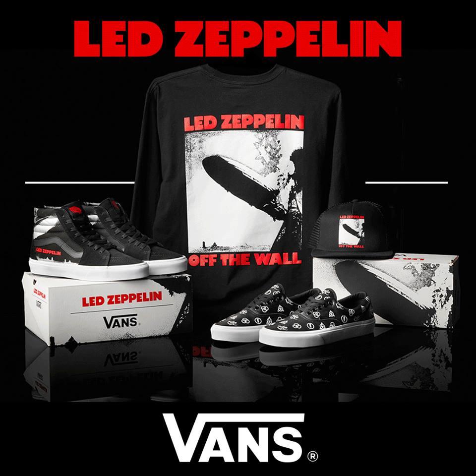 Así son las nuevas zapatillas VANS de LED ZEPPELIN (Fotos)