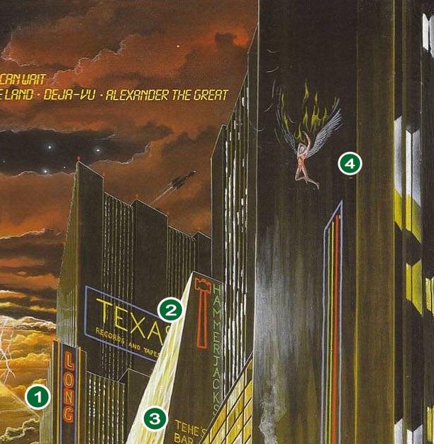 """IRON MAIDEN: Todos los secretos de la portada de """"Somewhere In Time"""""""