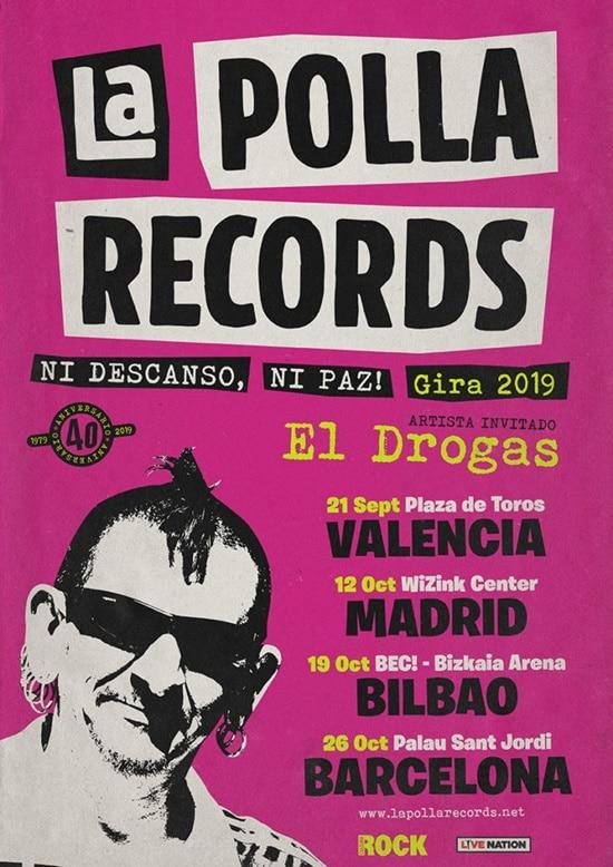 LA POLLA RECORDS regresa con 12 conciertos y nuevo disco recopilatorio