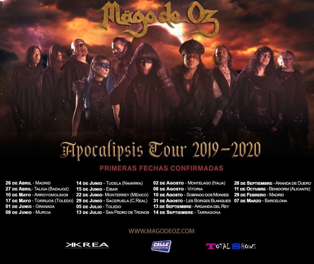 "MÄGO DE OZ anuncia las primeras fechas de su gira ""Apocalipsis Tour"""
