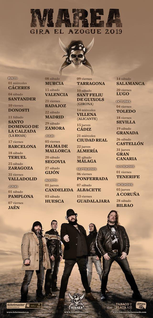 """MAREA: primeras fechas de la gira """"El Azogue"""". Entradas y más información"""