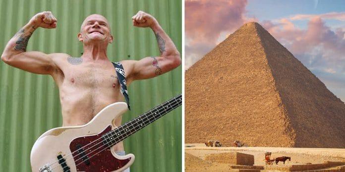 Red Hot Chili Peppers transmitirá un concierto desde las pirámides de Egipto