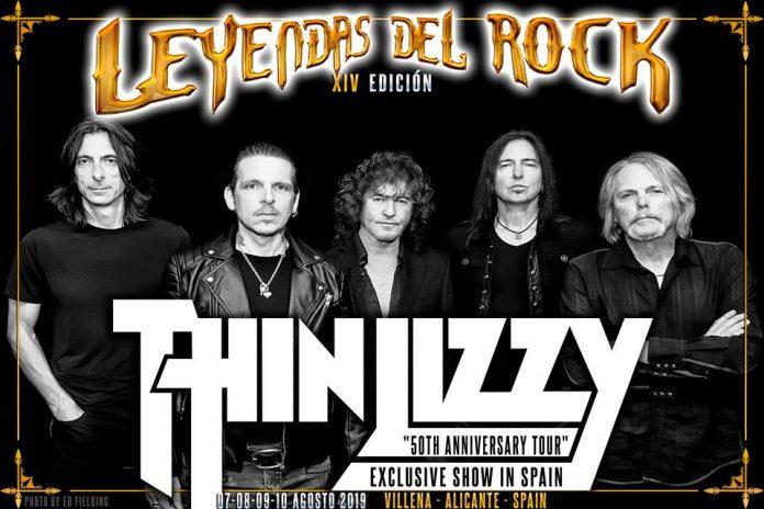 THIN LIZZY encabezará el festival LEYENDAS DEL ROCK 2019