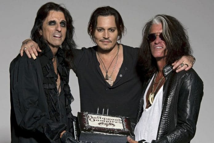 HOLLYWOOD VAMPIRES (Alice Cooper, Johnny Deep, Joe Perry) lanzan un nuevo video