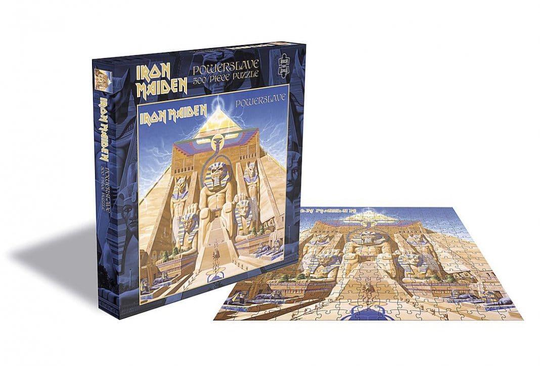 IRON MAIDEN, SLAYER, JUDAS PRIEST y MÖTORHEAD lanzarán sus propios puzzles