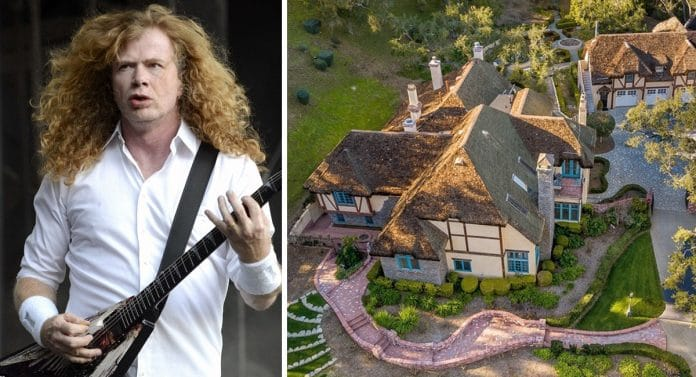 La INCREÍBLE mansión que DAVE MUSTAINE ha vendido por 2 millones de dólares (Fotos)