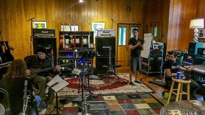 MEGADETH ha empezado a grabar su próximo disco (fotos y video)