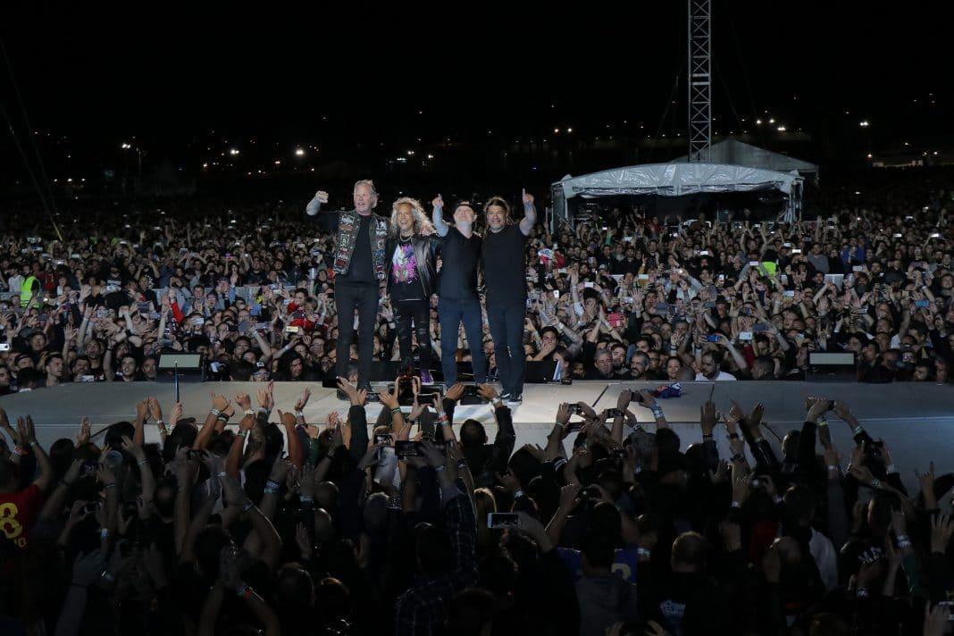 METALLICA reunió en Madrid a 68.000 personas en un concierto épico
