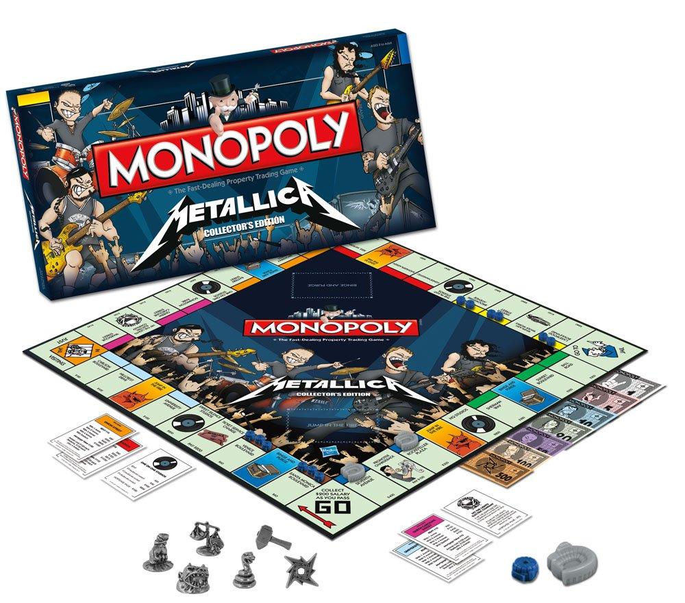 Así es el Monopoly de METALLICA (Video)