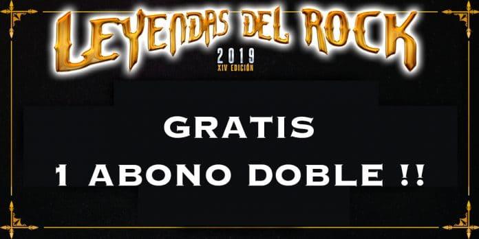 LEYENDAS DEL ROCK 2019: Regalamos 1 ABONO DOBLE para asistir al festival!