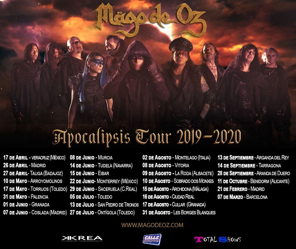 ALESTORM tocará con MÄGO DE OZ en Madrid en febrero de 2020