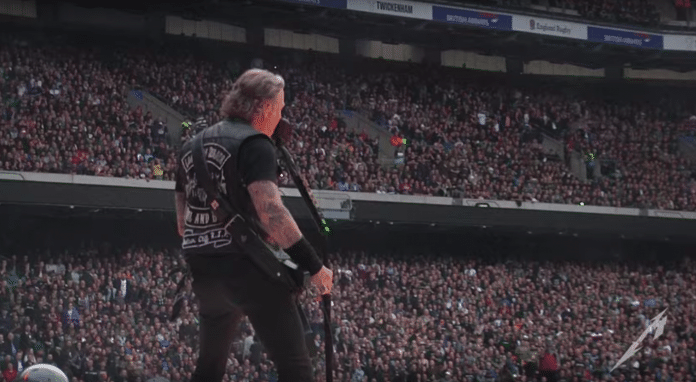 METALLICA publica el video de