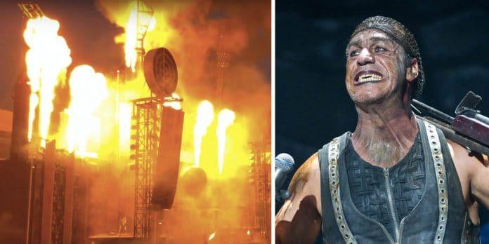 RAMMSTEIN: Así es la increíble pirotecnia de sus conciertos (Video)