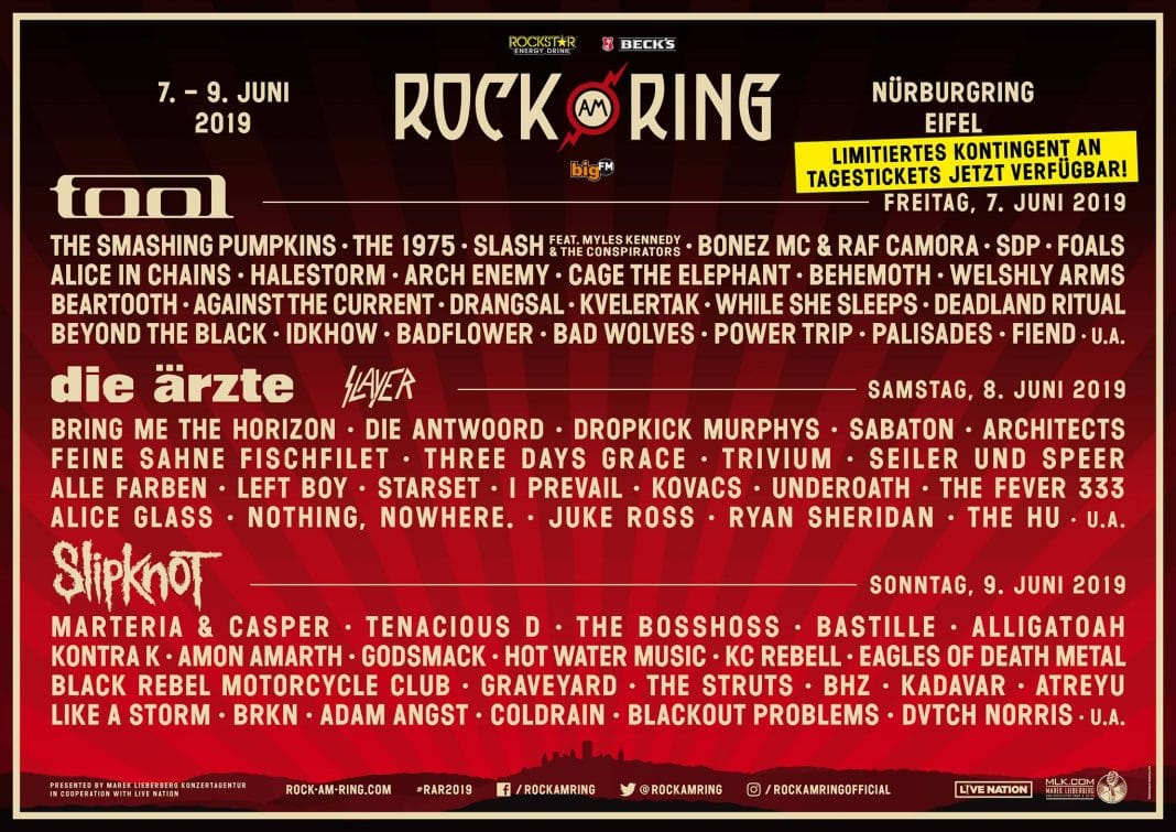SLIPKNOT: Mira el concierto completo en el festival ROCK AM RING 2019 (Video)