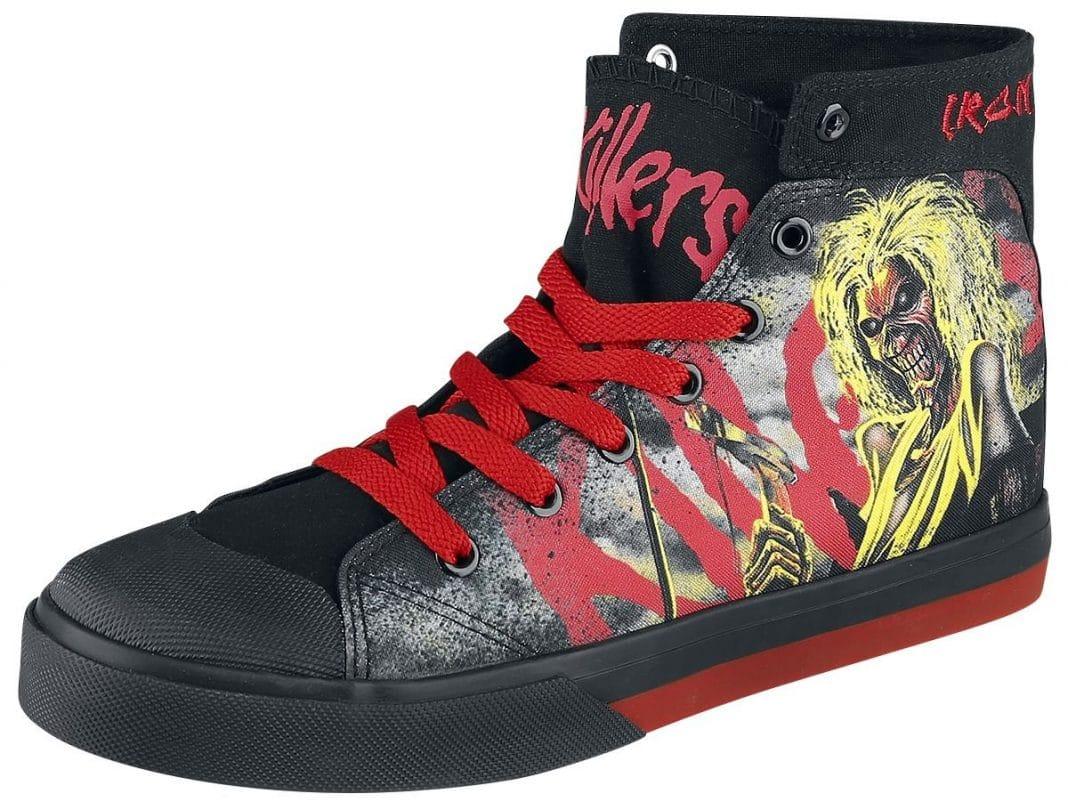 TOP 10: Impresionantes zapatillas de grupos de ROCK y METAL