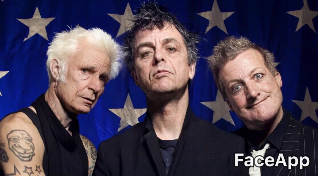 Green Day con FaceApp