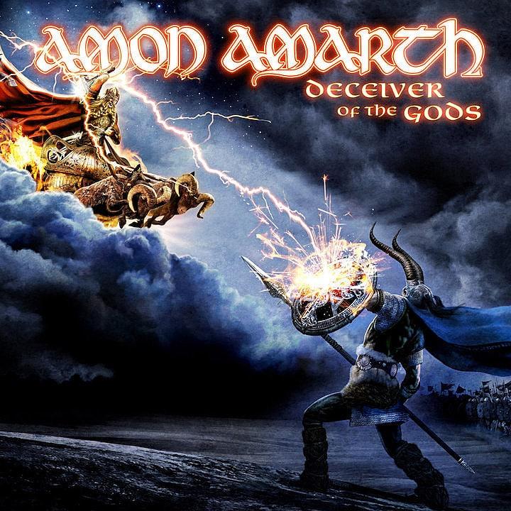 AMON AMARTH: Todos sus discos ordenados de peor a mejor