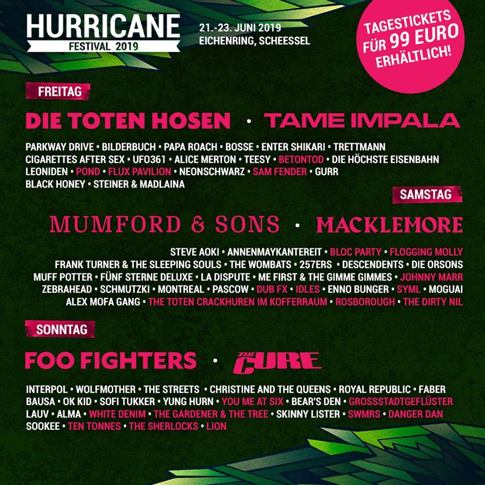 PAPA ROACH: Concierto completo en Hurricane Festival 2019 (Video)