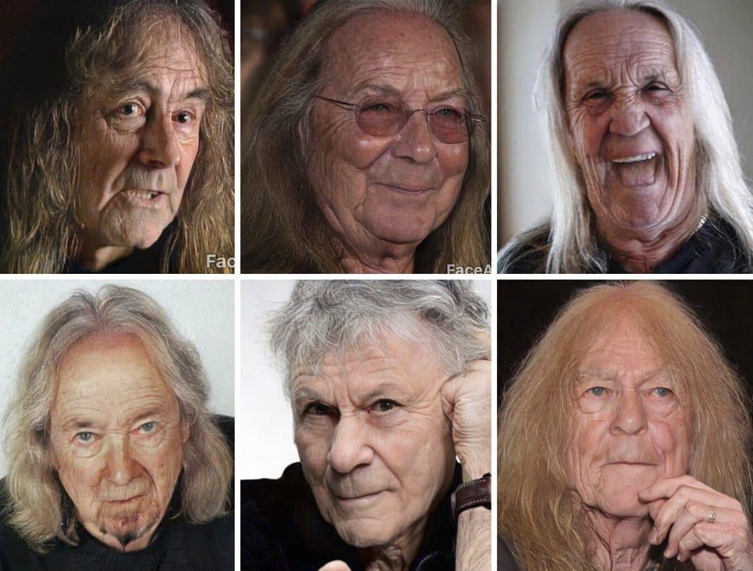 Iron Maiden con FaceApp