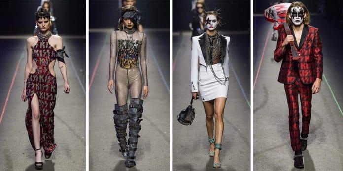 KISS fue la estrella en las pasarelas de moda de Milán (Fotos)