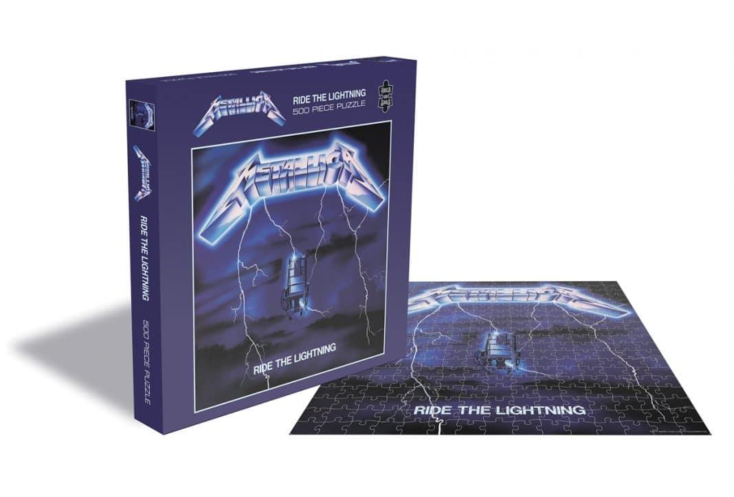 METALLICA pondrá a la venta puzzles de algunos de sus discos (Fotos)