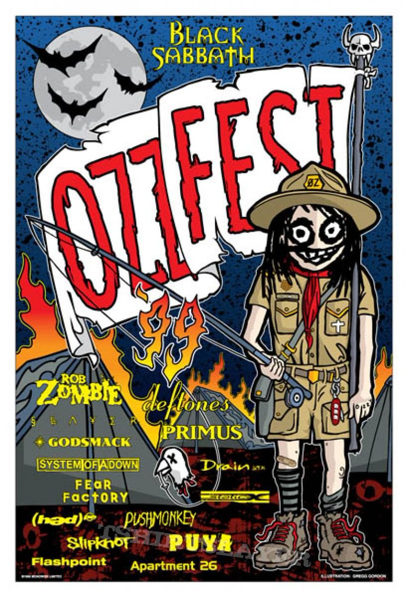 Publican un documental del OZZFEST grabado en 1999 (Video)