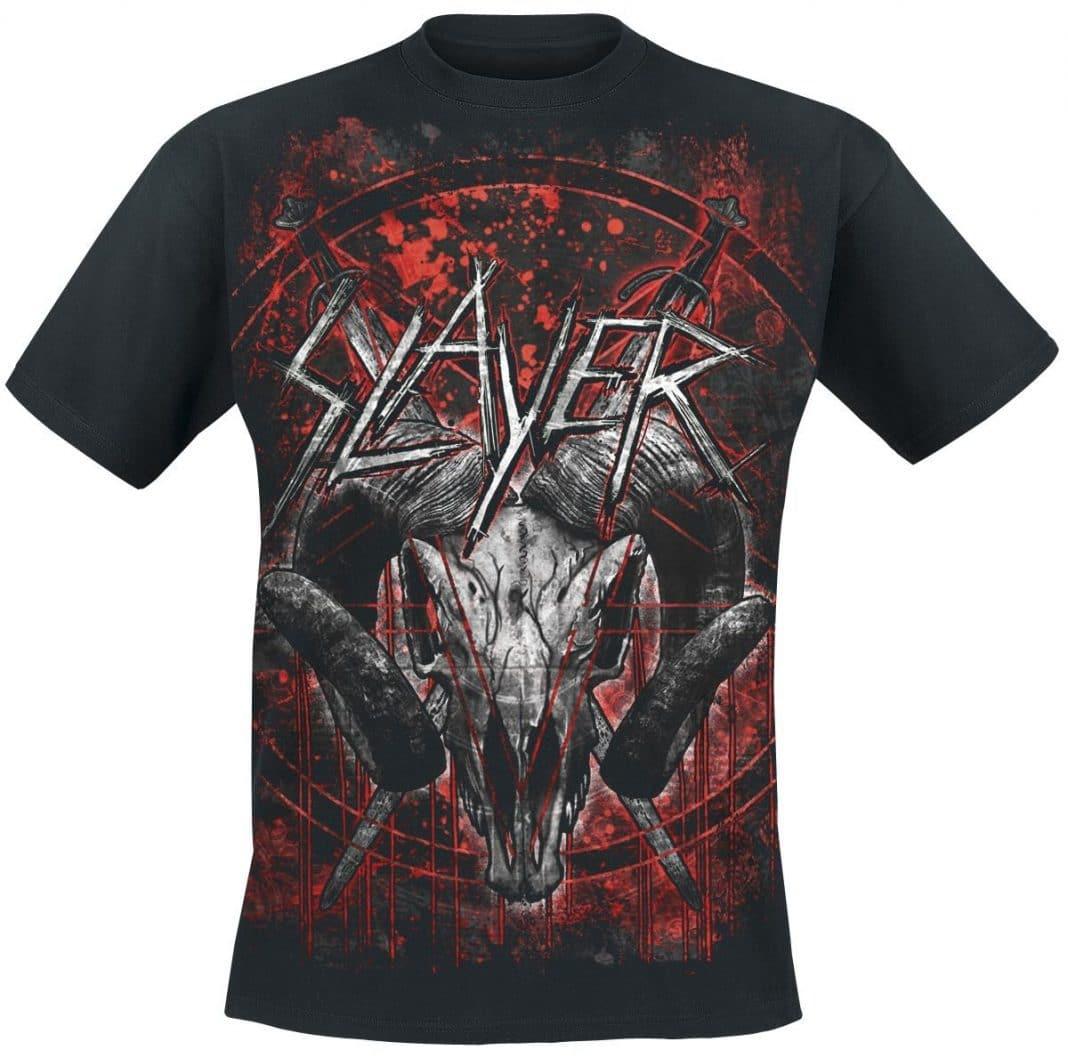 10 impresionantes camisetas de grupos de METAL y HARD ROCK