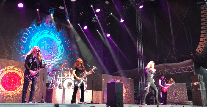 Así sonó WHITESNAKE en el festival SAUNA OPEN AIR de Finlandia (Video)