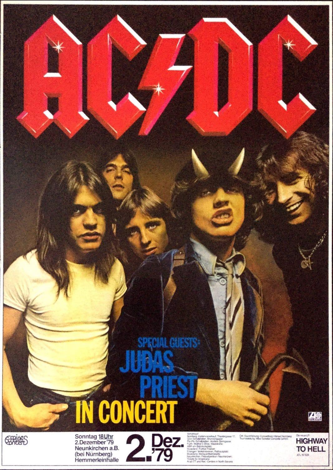 AC/DC: Hace 40 años BON SCOTT empezó su última gira con el grupo