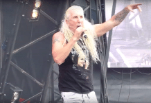 Mira a DEE SNIDER de TWISTED SISTER tocar en São Paulo, Brasil (Video)
