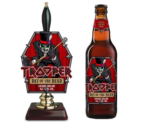 """IRON MAIDEN pone a la venta una nueva cerveza por Halloween: """"Day Of The Dead"""""""